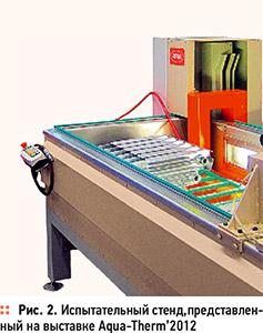 Испытания радиаторов пробным давлением. 8/2012. Фото 3