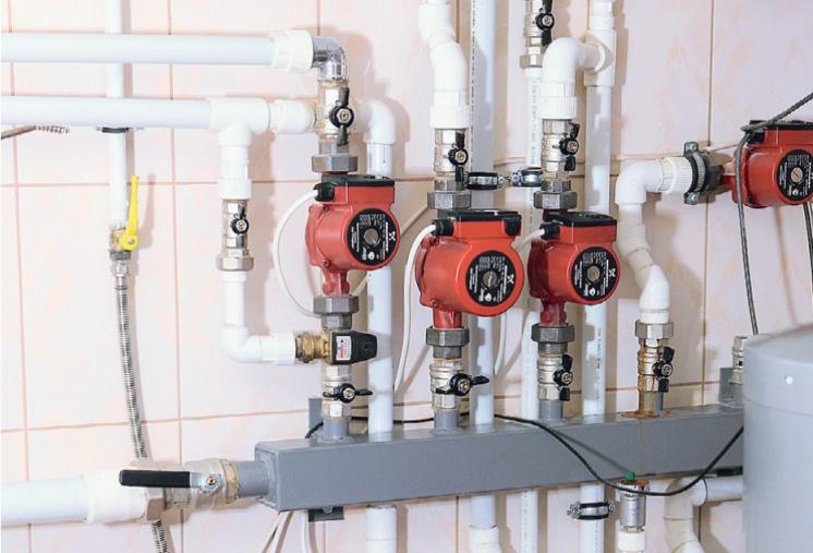 Система отопления: выбираем насос