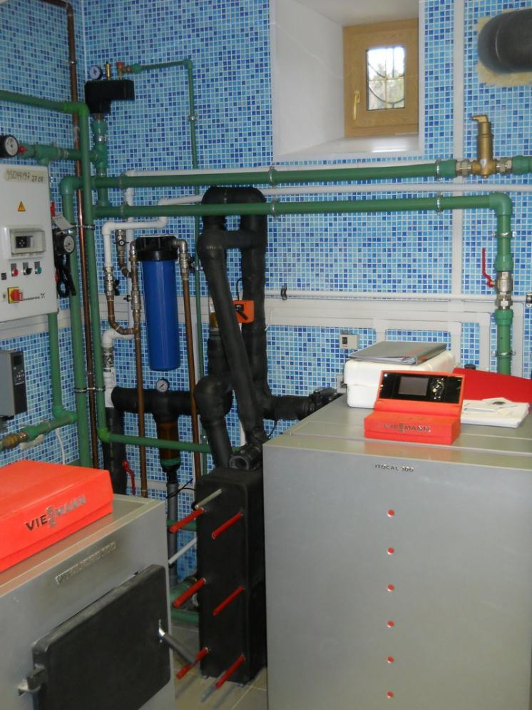 Тепловой насос вода/вода мощностью 30 кВт с функцией