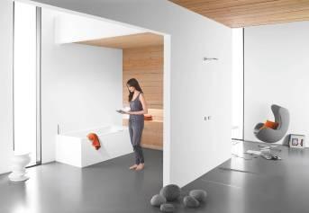 В аудиосистеме для ванной комнаты Soundwave от компании Kaldewei ванна служит в качестве резонатора.
