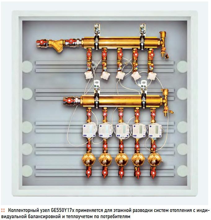 Коллекторный узел GE550Y17x