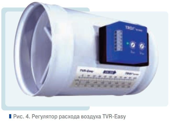 Регулятор расхода воздуха TVR-