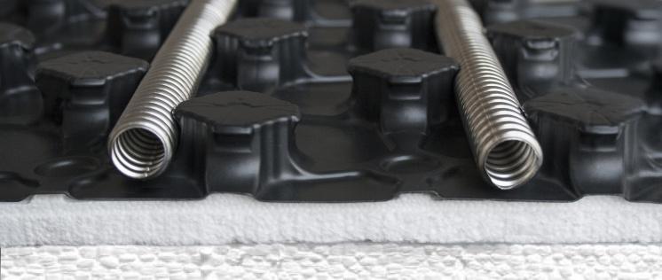 Стальная энергоэффективность: гофрированные трубы из нержавеющей стали Neptun IWS для водяных теплых полов. 8/2015. Фото 2