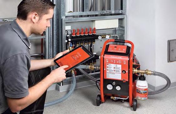 Очистка систем отопления с помощью промывочных компрессоров . 9/2015. Фото 2
