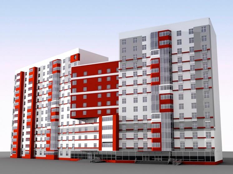 Общеобменная и местная вытяжная вентиляция в жилых многоэтаж.