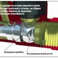 Конструкция на основе шарового крана позволяет выполнять отсечку, не сбивая  настройку клапана на заданную пропускную способность