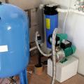 Расчёт объёма бака-гидроаккумулятора при подаче воды в сеть водоснабжения