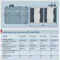 Типоразмерный ряд и характеристики ВТЗ серий 350/450