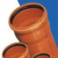 Трубы и фасонные части из ПВХ для наружной канализации