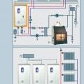 Часто применяемые схемы тепловых систем