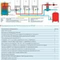 Каскадная котельная Thermona мощностью 90 кВт (отопление и горячее водоснабжение)