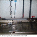 Фото 1. Испытание концовок для металлопластиковых труб