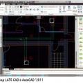 Рис. 1. Общий вид LATS CAD в AutoCAD '2011