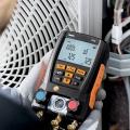 Максимальный уровень комфорта в жару и холод помогут обеспечить цифровые манометрические коллекторы Testo
