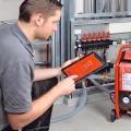 Очистка систем отопления с помощью промывочных компрессоров