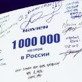 Юбилейный рекорд: 1 000 000 настенных котлов в России