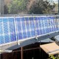 Исследование характеристик экспериментальной солнечной установки для тепло- и электроснабжения потребителей
