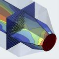 Численное моделирование процесса тепломассообмена в сотовом увлажнителе