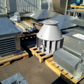 Лабораторное тестирование аэродинамики серийных крышных вентиляторов на соответствие каталожным параметрам