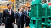 Открытие завода Wilo Rus