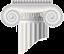 Логотип Акрополь