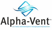 Логотип альфа-вент