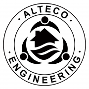 Логотип Alteco Engineering