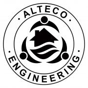 Логотип Alteco Engineering