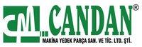 Логотип CANDAN MAKINA YEDEK PARCA SAN VE TIC LTD STI