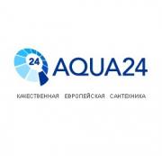 Логотип Магазин сантехники Aqua24.ru