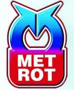 Логотип Метрот