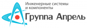 Логотип Инженерный центр «Апрель»