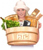 Логотип Сауна Маркет