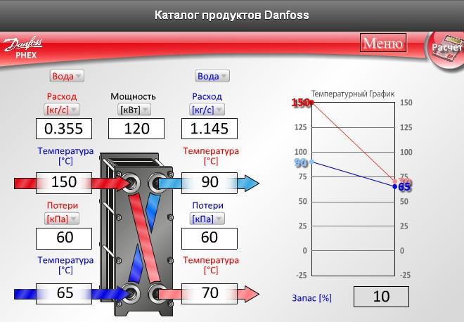 Расчетная программа данфосс для выбора теплообменника теплообменник пп 1-21-0 2-2 грн