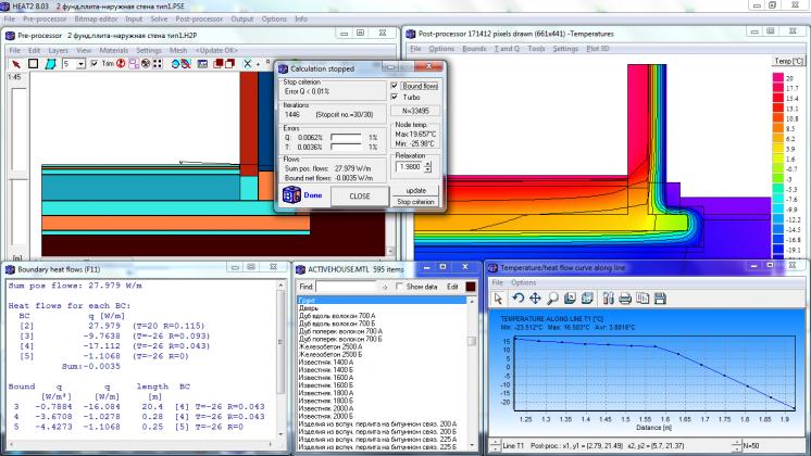 Программу для расчета температурных полей