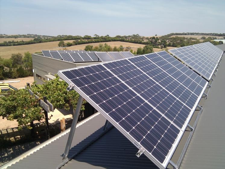 частные солнечные панели