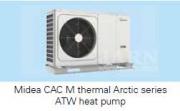 Новые тепловые насосы Midea ATW M-Thermal Arctic