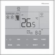 Новый пульт управления для VRF-систем Hisense Фото №1