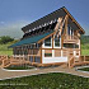 Energy efficient house in Orenburg