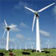 Wind power plant in Kurgan region