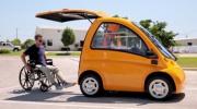 Электромобиль для людей с ограниченными возможностями Фото №1
