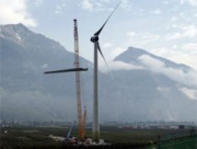 The biggest wind turbine in Switzerland Фото №1