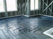 Underfloor heating means warm house Фото №1
