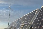 Wind-solar power plant in the Irkutsk region Фото №1