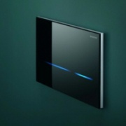 Geberit touchless toilet flush actuation system Фото №1