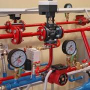 Установка общедомовых приборов учёта воды Фото №1