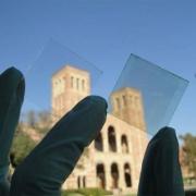 Прозрачные солнечные батареи  Фото №1