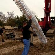 Вертикальный спиральный геозонд Фото №1