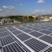 Электростанция на солнечных батареях Фото №1