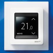 Новый терморегулятор DEVIregTM Touch Фото №1